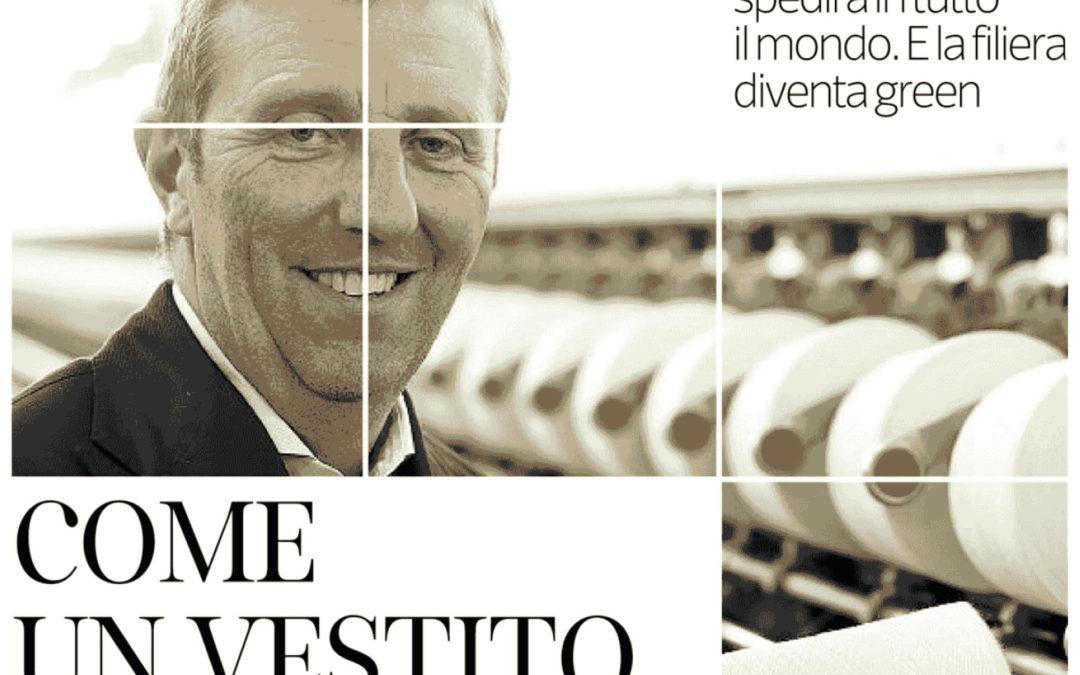 THE ITALIAN NEWSPAPER – CORRIERE DELLA SERA_NEW ARTICLE